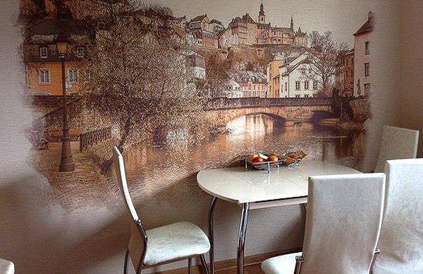 Sienų tapyba valgomajame