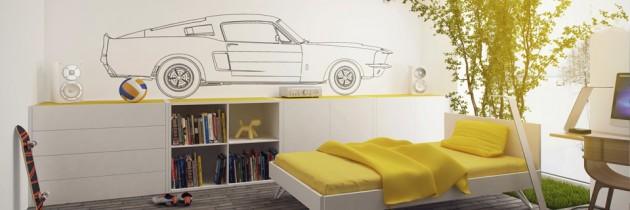 Interjero idėjos – geltona spalva interjere,