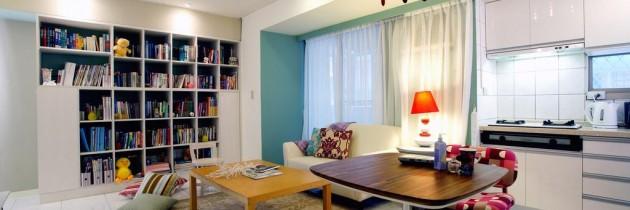 Interjero idėjos – jaunatviškai įrengtas būstas