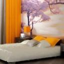 Interjero idėjos – fototapetas miegamajame